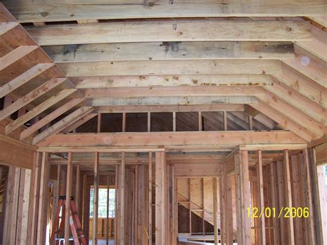 vaulted ceiling vaulted ceiling carpentry contractor talk