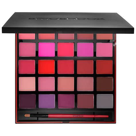 Akrilik Palette Lipstickmatte smashbox be legendary lipstick palette for 2017
