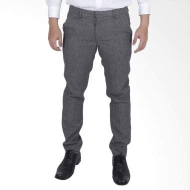 Celana Bahan Formal Pria jual elfs shop slimfit wool celana bahan formal pria abu muda harga kualitas