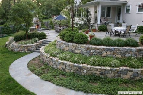 Sloped Backyards by 25 Awesome Sloped Backyard Design Ideas That Will Inspire
