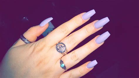 imagenes de uñas acrilicas puntiagudas la 250 ltima tendencia del nail art las u 241 as squareletto mujer