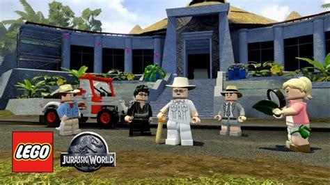 film lego petualangan review lego jurassic world game dari film jurassic