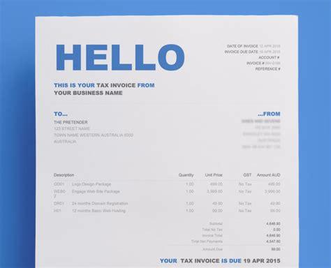xero invoice template invoice sle template