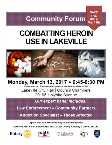 Heroin Detox Forum by Community Organizations To Hold Forum On Heroin And Opiate