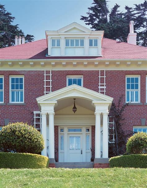red brick house color schemes exterior paint color ideas with red brick paint home