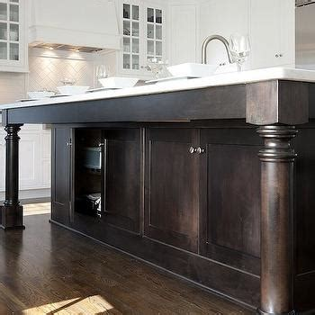 kitchen island leg kitchen island turned legs design decor photos