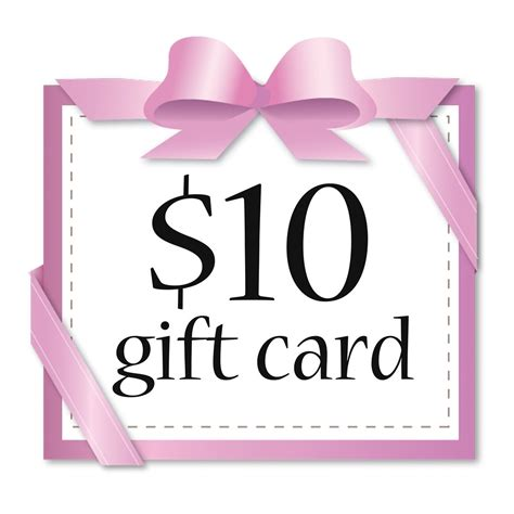 Or Card 10 Gift Card