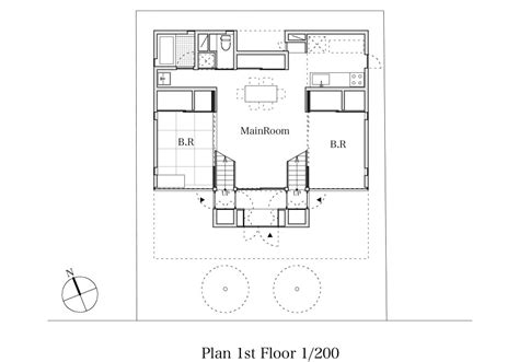 floor plan architect architecture photography ttn house miyahara architect