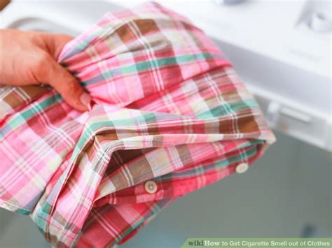 how to get smell out of clothes 4 ways to get cigarette smell out of clothes wikihow