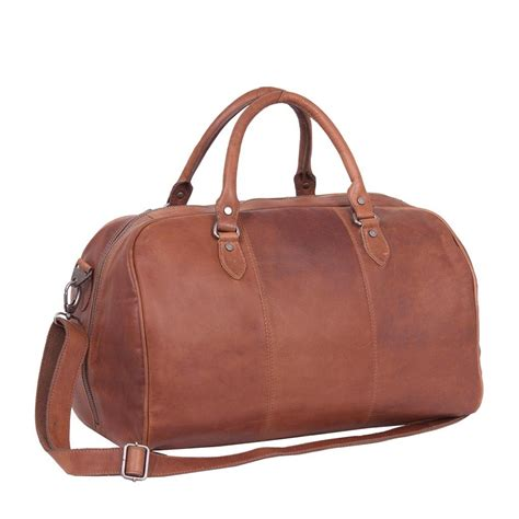 A Weekend Bag For The by Leather Weekend Bag Cognac Liam