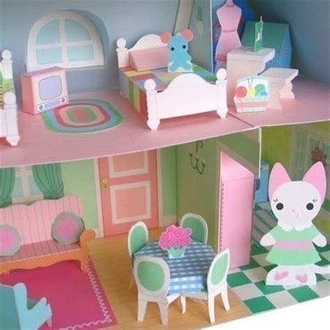 How To Make A Paper Doll House - creating cupcakes jones make a paper doll