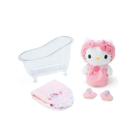 hello kitty and set with storage hello kitty plush set bath the kitty shop