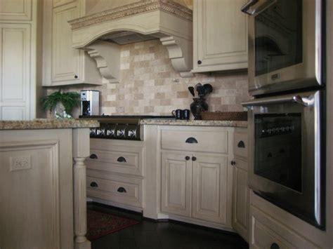 mediterranean kitchen cabinets glazed cabinets