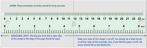 printable ruler right to left such dogecoin very paper