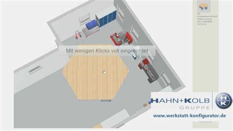 werkstatt planen hahn kolb werkstatt konfigurator zur 3 d planung
