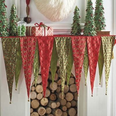 pattern for christmas mantel scarf kringle mantel scarf grandin road