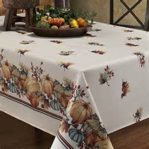 great fall tablecloths to take you all the way through thanksgiving