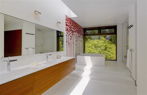 Modern Bathroom In Valley World Of Architecture How Homes In Silicon Valley Look Like