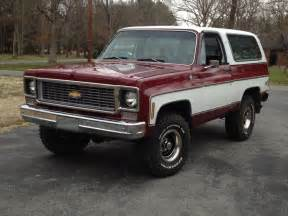 1975 chevy blazer with a 73 74 grille family cars