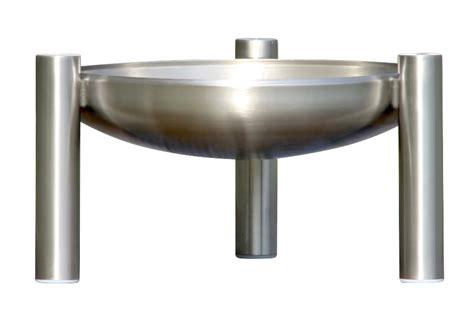 feuerschale mit glas feuerschale edelstahl 216 80 cm ricon 214 g 252 nstig kaufen