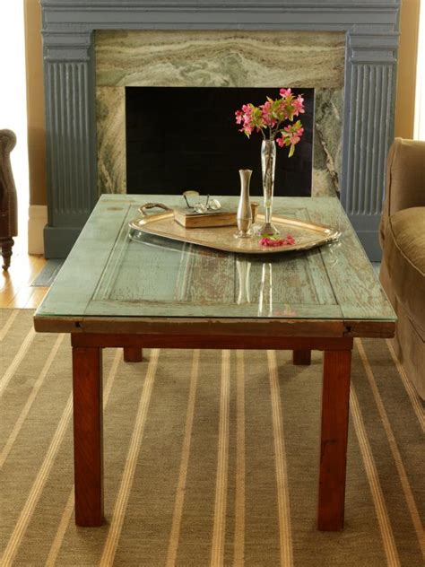 repurpose  door   coffee table  tos diy
