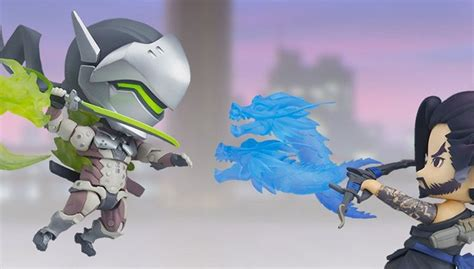 genji and hanzo join the adorable nendoroid overwatch line