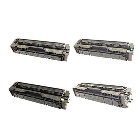 Toner Hp 201a Color hp 201a 4 color laser toner set colortonerexpert