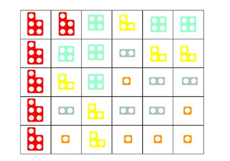printable numicon number cards here s a set of numicon dominoes numicon pinterest