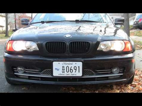 bmw e46 facelift depo headlights with smd bulb halo rings