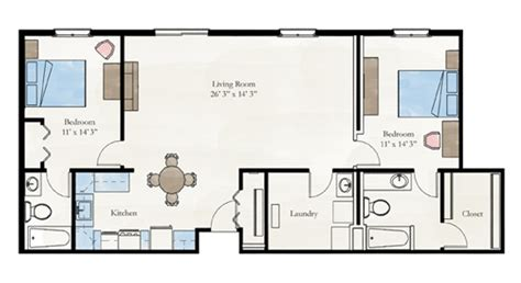 floor plan for two bedroom apartment two bedroom apartment floor plan larksfield place