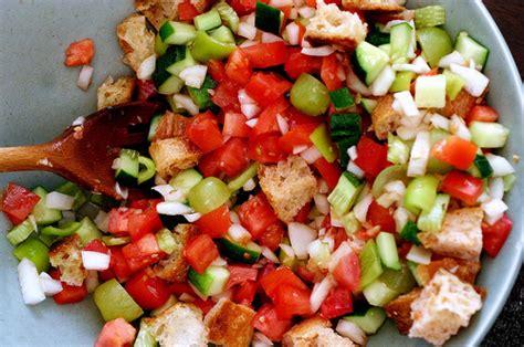 gazpacho salad smitten kitchen