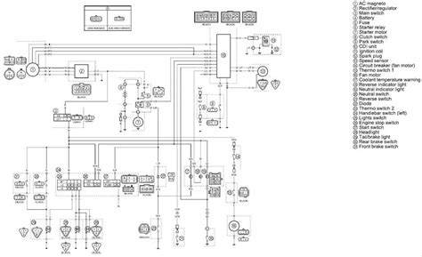 raptor yfm 660 wiring diagram wiring diagram with