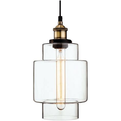 Vintage Style Pendant Lights Firstlight Retro Vintage Style Edison Glass Ceiling Pendant Light Lighting From The Home