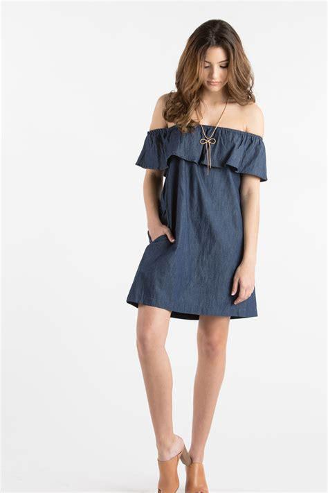 Carolline Longsleeve Maxi Denim Diskon denim dresses you can rock all summer fabfitfun