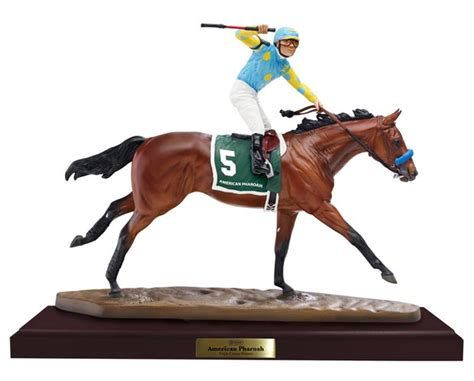 NEW! Breyer #9180 American Pharoah Resin