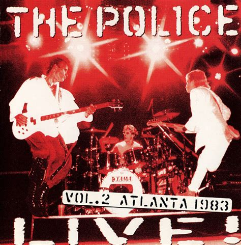 format live cd the police live cd album at discogs