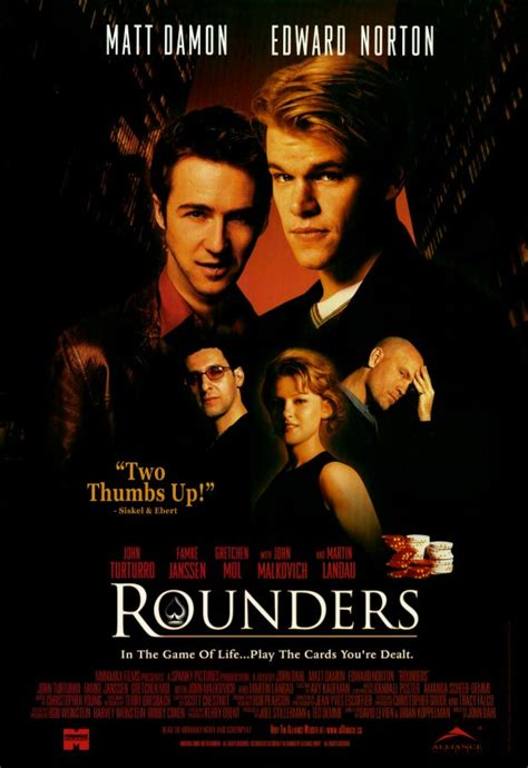 cinema 21 watch movie episode xxi rounders best gambling movies the as you