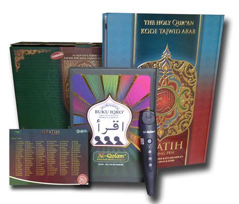 Buku Iqro Dilengkapi Dengan Juzama Dan Terjemah al quran al fatih plus talking pen e pen toko muslim title