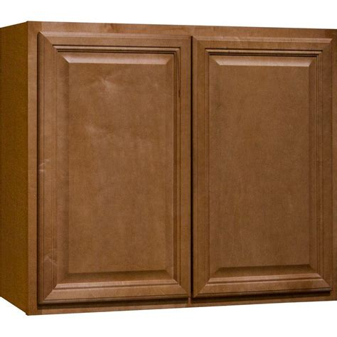 kitchen wall cabinets home depot hton bay 36x30x12 in wall kitchen cabinet in natural
