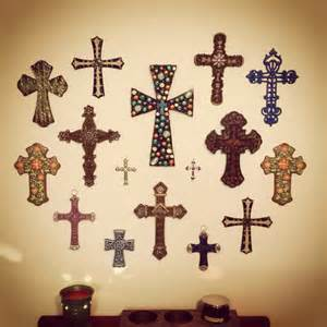 cross wall dining room home decor