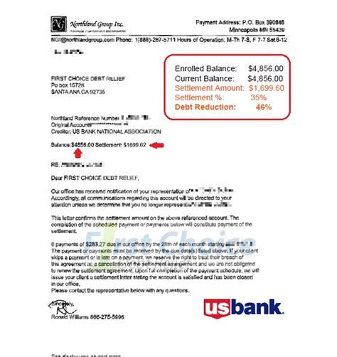 Sle Letter To Bank For Early Loan Settlement debt settlement letters