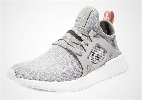 Adidas Nmd For Leadies adidas nmd xr1 grey pink bb3686 sneakernews