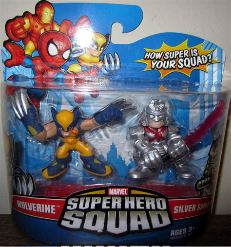 Figure Transformers Shs wolverine silver samurai squad figures