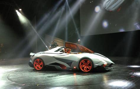 lamborghini egoista is a single seater speed racer concept