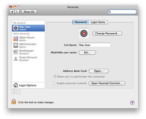 reset windows password mac how to reset your mac password macrx cult of mac