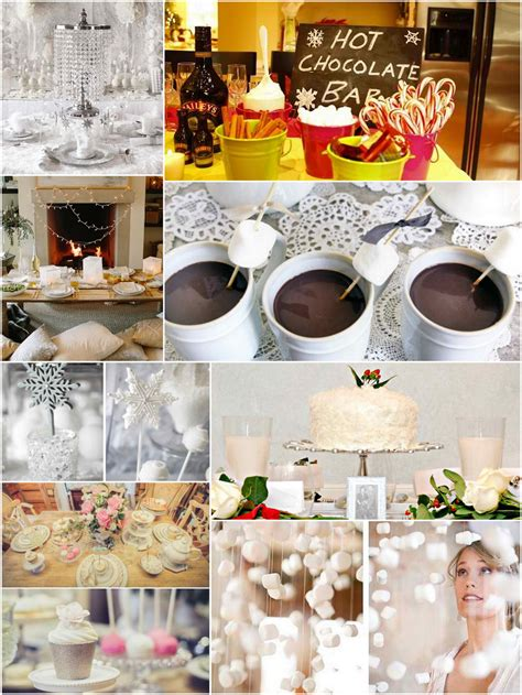 winter bridal shower ideas trueblu