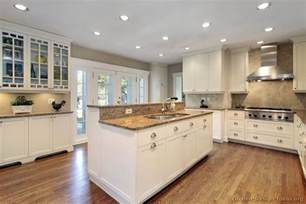 White Cabinet Kitchen Designs Pictures Of Kitchens Traditional White Antique Kitchen Cabinets