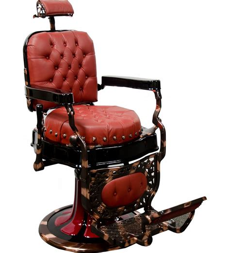 Antique Barber Chairs by