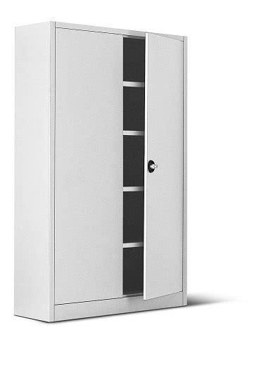 armadio con ripiani armadio metallico con porte a battenti 4 ripiani 100x45x200h