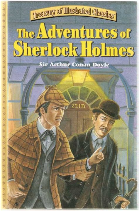 the adventures of sherlock books the adventures of sherlock treasury of illustrated